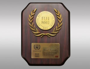 International Union of Invention and Industrial Innovation's IUI 5002 award