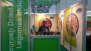 Kourosh Dried Fruits and Legumes Industry at the Moscow WorldFood (WorldFood Moscow) Exhibition