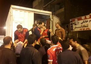 Ofogh Kourosh Basket of Love Reaches Lorestan Province's Flood Victims