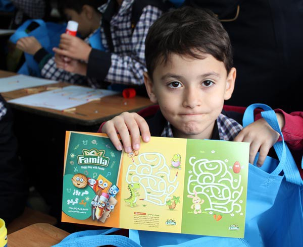 """Kourosh Dried Fruits and Legumes Industry's """"A Walnut a Day"""" Campaign Launched in Schools"""