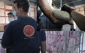مشارکت افق کوروش در طرح توزیع غذای رایگان در مناطق محروم